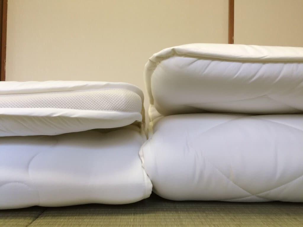 ニトリの8000円で買える布団二種を比較