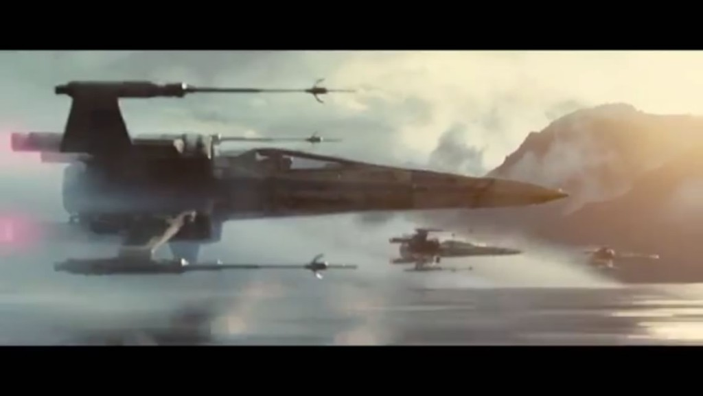 Star Wars: The Force Awakens予告動画