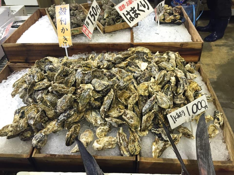 博多街道魚市かき